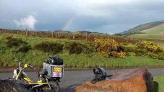 Tour de du Royaume Uni et de L'Irlande en Mobylette