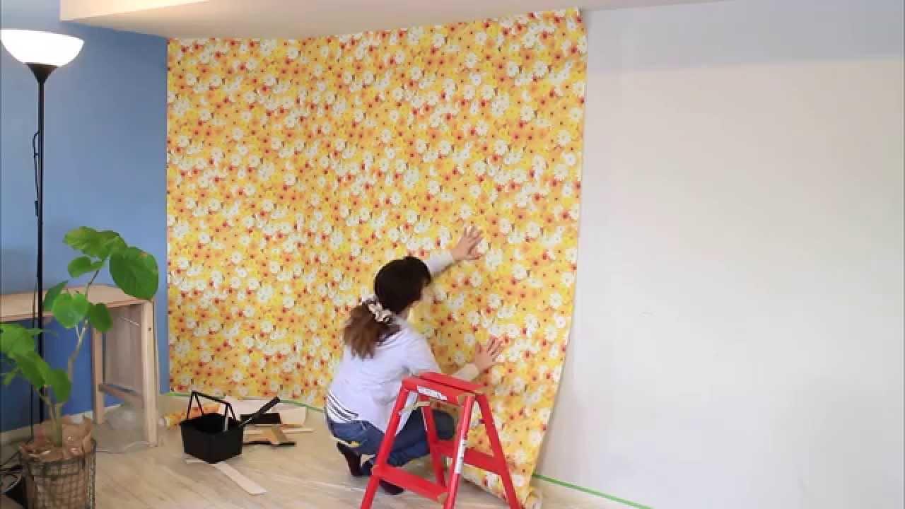 貼ってはがせる壁紙で自分好みにお部屋を模様替えする まとめ実例集