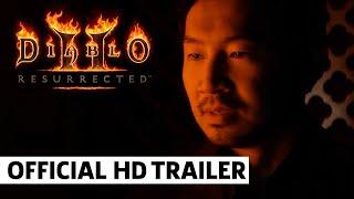 Diablo 2 Resurrected Live Action Trailer ft Simu Liu