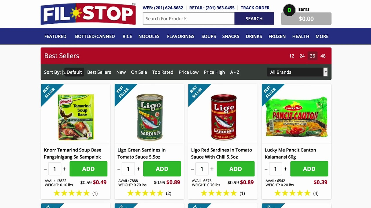 Filipino Food, Online Grocery and Recipes - FilStop