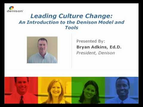 Introduction to the Denison Culture Model, Survey and Solutions