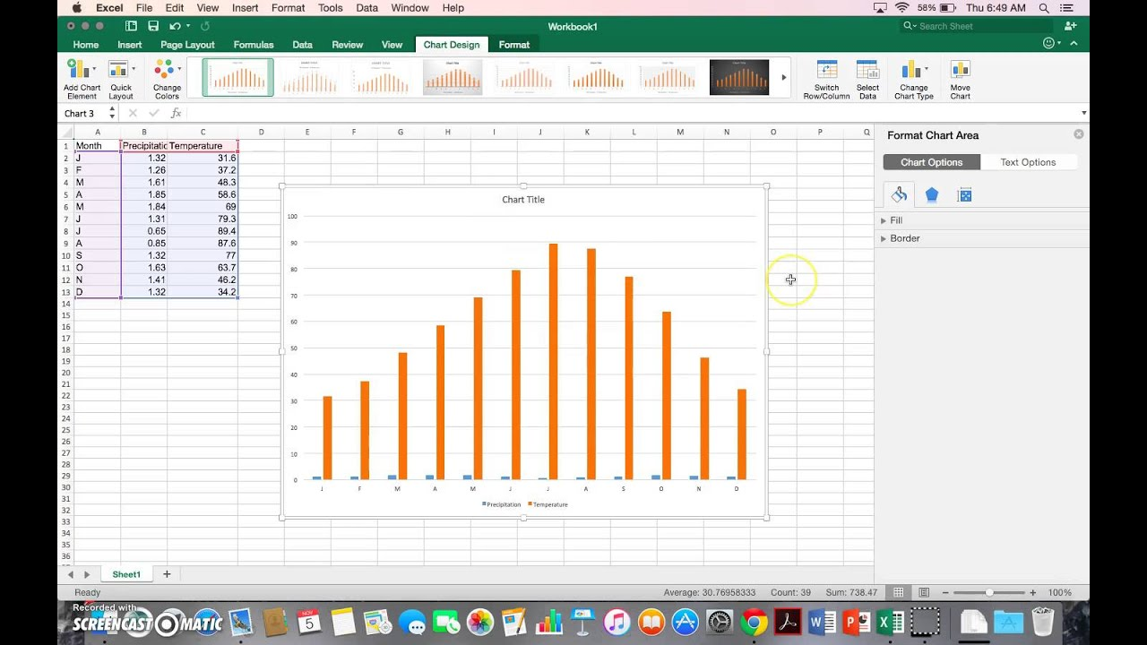 Excel for mac climate graph youtube excel for mac climate graph ccuart Gallery