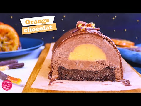 🍊-buche-de-noËl-orange-chocolat-🍊