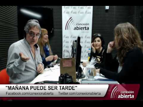 """Carolina Papaleo en """"MAÑANA PUEDE SER TARDE"""" 16-08 /Radio Conexion Abierta"""