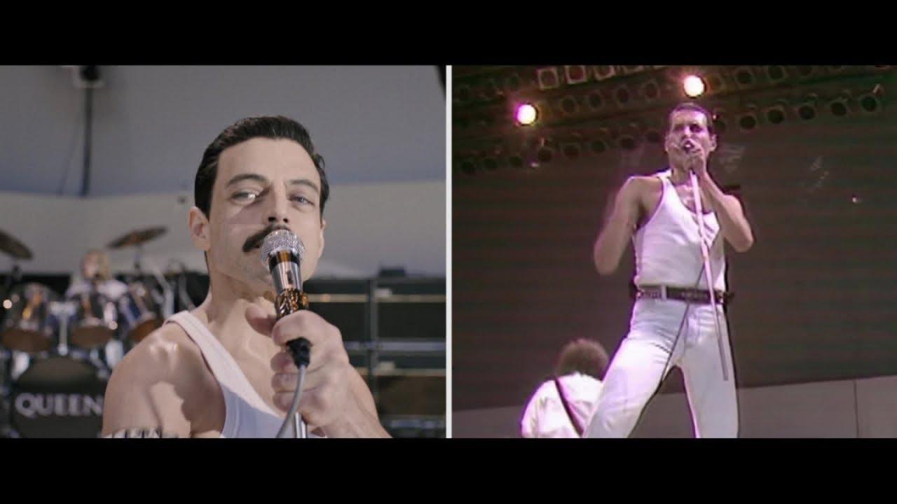 7e811d56754 Bohemian Rhapsody - Live Aid Side by Side: