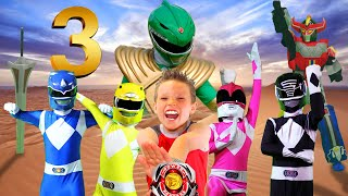 Download Video POWER RANGERS NINJA KIDZ! Episode 3 - Rise of the GREEN RANGER! MP3 3GP MP4
