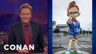 Conan Responds To The Mayor Of Conan Town  - CONAN on TBS