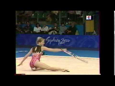Eva SERRANO (FRA) hoop - 2000 Sydney Olympics qualifs
