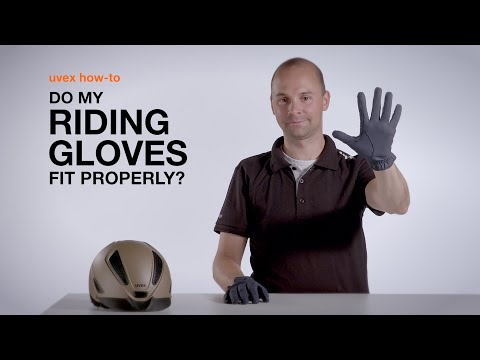 Do my riding gloves fit properly? | uvex sports