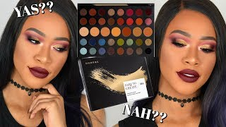 MORPHE 39A DARE TO CREATE PALETTE SWATCHES, TUTORIAL & REVIEW