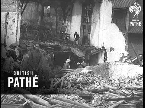 Japanese Bomb Canton (1938)