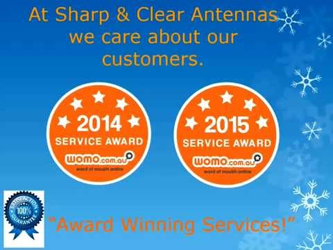 Sharp and Clear TV Antenna Melbourne