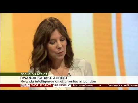 Speaking to BBC Focus on Africa TV about Rwanda
