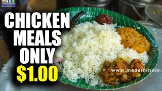 Telangana Country Chicken Rice Full Meals