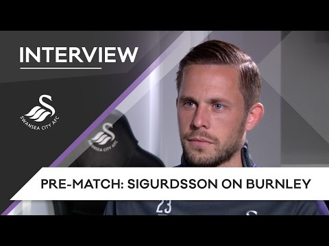 Swans TV - Pre-match: Sigurdsson on Burnley