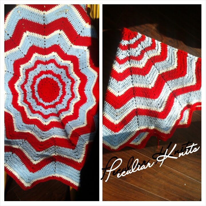 How To Crochet Rainbow Ripple Baby Blanket Tutorial Part 1 Youtube