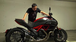 "看你老師摩托車介紹 - Ducati Diavel ""Carbon Edition"""