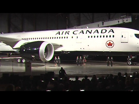 Air Canada unveils new look by Canadian designer