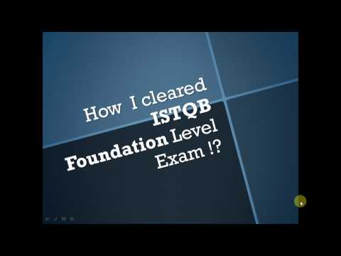 Clearing ISTQB : How I cleared ISTQB Foundation Level Exam?