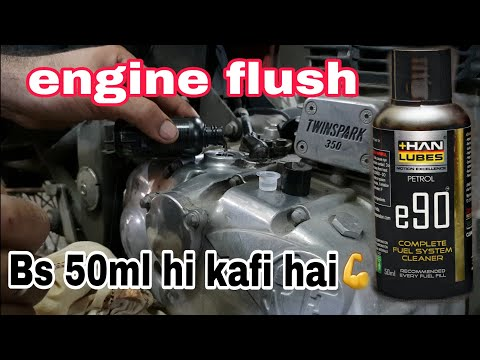 E90 | oil flush | royal enfield | its working or not |