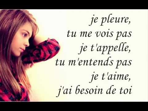 Caroline Costa - Comment vivre sans toi Paroles/Lyrics