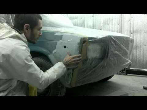 Смотреть онлайн покраска авто в гараже ВАЗ 2107