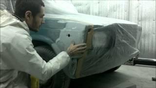 покраска авто в гараже ВАЗ 2107(, 2014-01-12T15:43:37.000Z)