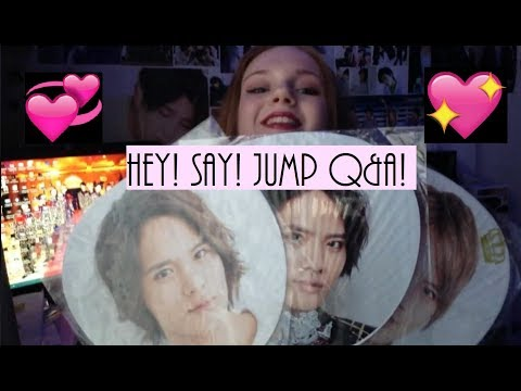 Hey! Say! JUMP Q & A!!