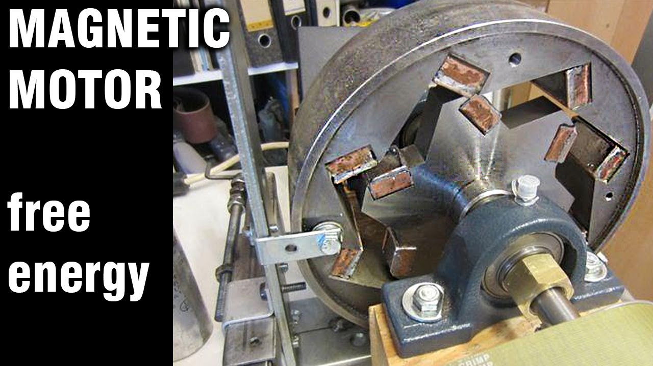 Free Energy Generator, Magnet Motor - YouTube