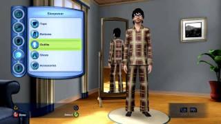 Sims 3 Lets Play Ep.1 Create A Sim (Xbox 360)