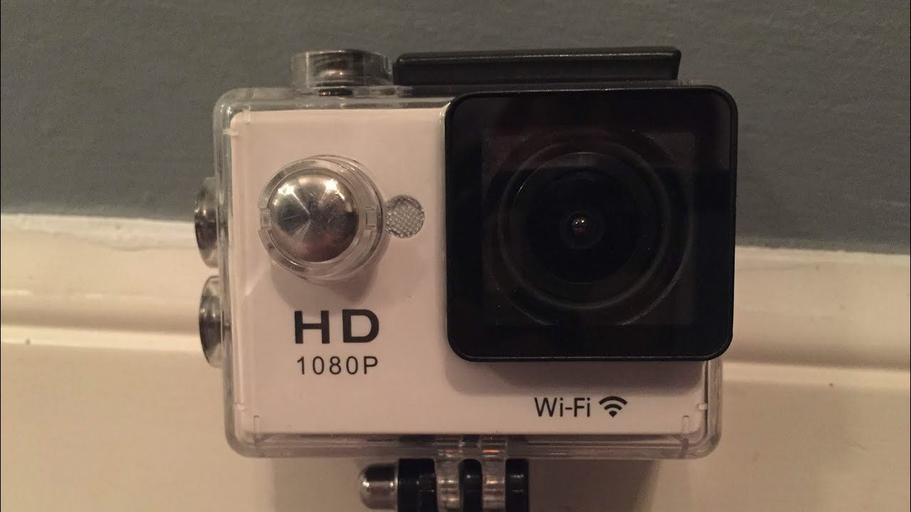 How To Connect The Wifi On An Eken N9 Action Cam Youtube 0in Ultrahd Kamera