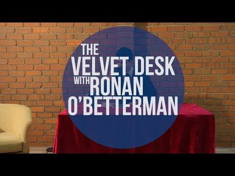 NEW AUSTRALIAN TALK SHOW - The velvet desk