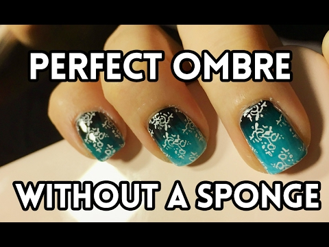 Diy Ombre Gradient Effect Without A Sponge Nail Art Tutorial
