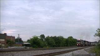 24 Hours of Railfanning in Dalton, GA Part 1 of 3