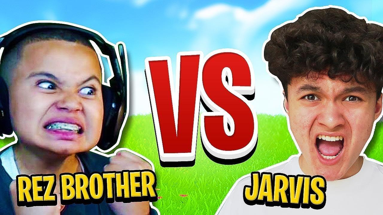 Download MindofRez's Little Brother Vs My Little Brother Jarvis (Fortnite 1v1)
