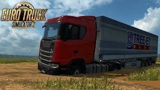 ESTRADAS PERIGOSAS - FIQUEI PRESO NO ATOLEIRO - Euro Truck Simulator 2 #01