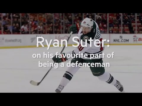 Ryan Suter on his favourite part of being a defenceman