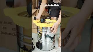 Máy hút bụi công nghiệp ZUKUI 30L -1500w hút bụi khô và hút nước  Hotline: 0799338833