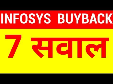 Infosys Buyback - 7 Questions Before I Participate || HINDI