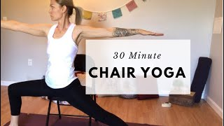 Chair Yoga | 30 Minutes | ZENner mobile yoga