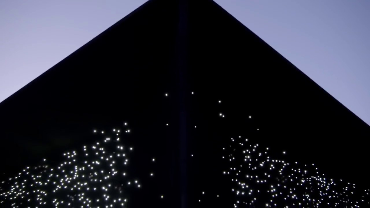 Asif Khan design a dark Vantablack pavilion for Winter ...