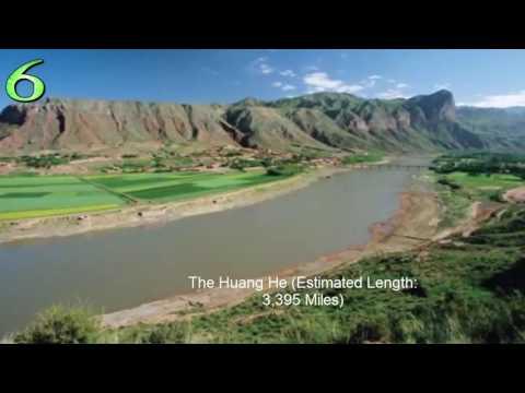 Top 10 Worlds Longest Rivers