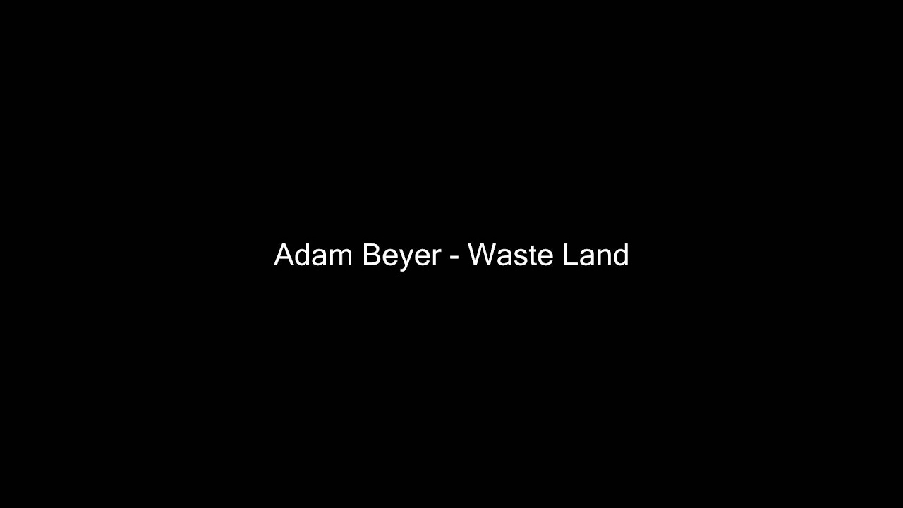 Adam Beyer Waste Land Original Mix Techno Music Box Youtube