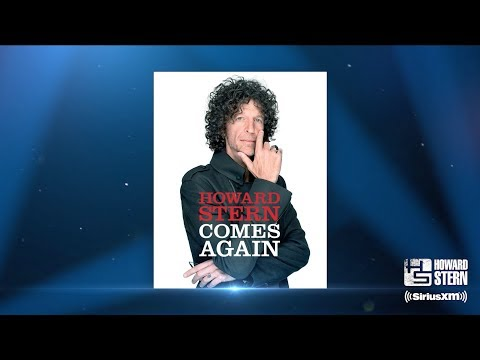 Howard Stern to release first book in more than 20 years