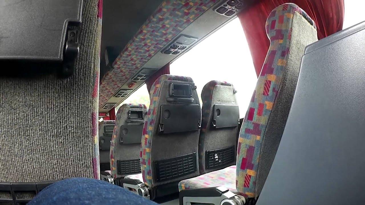 Inside VDL BERKHOF SB 3000 EXCELLENCE  bus Lithuania