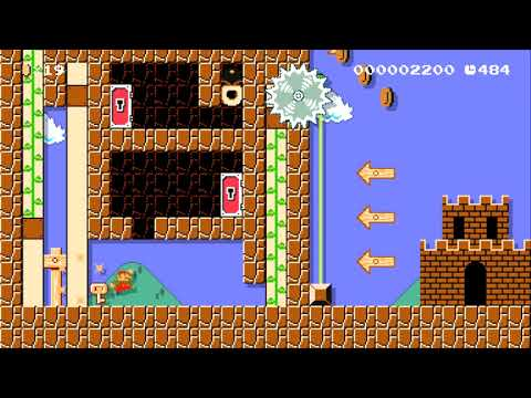Invisible Forces Puzzle by PuzzleKing - SUPER MARIO MAKER - NO COMMENTARY