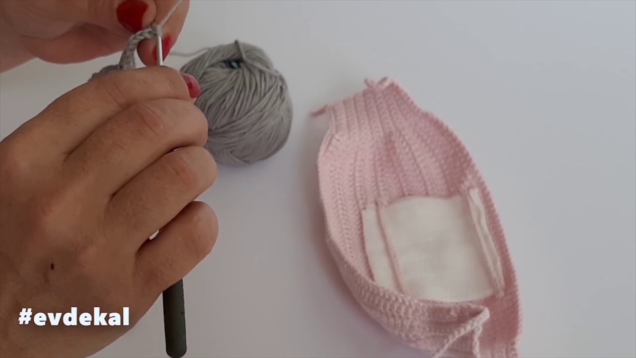 ÖRGÜ MASKE YAPIMI (How to Do Crochet Mask)