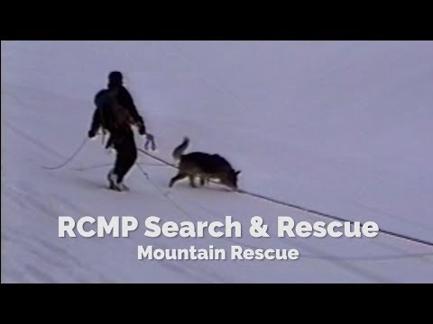 RCMP - Mountain Rescue Strategy & Tactics