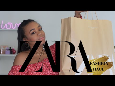 NEW IN ZARA HAUL |  TRY ON | MUST HAVE TREND