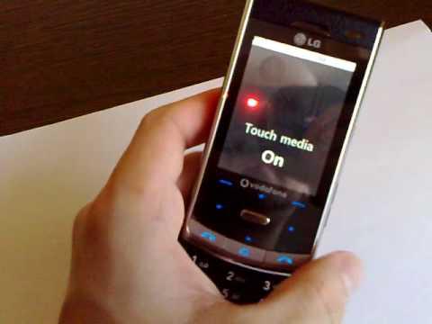 LG KF750 (pt anunt Okazii.ro)
